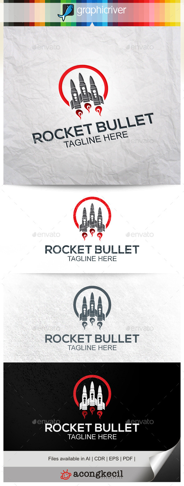 GraphicRiver Rocket Bullet 9911212