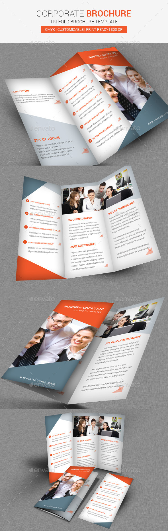 GraphicRiver TriFold Brochure Corporate 9911249