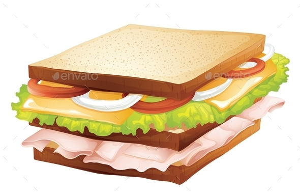 GraphicRiver Sandwich 9911364