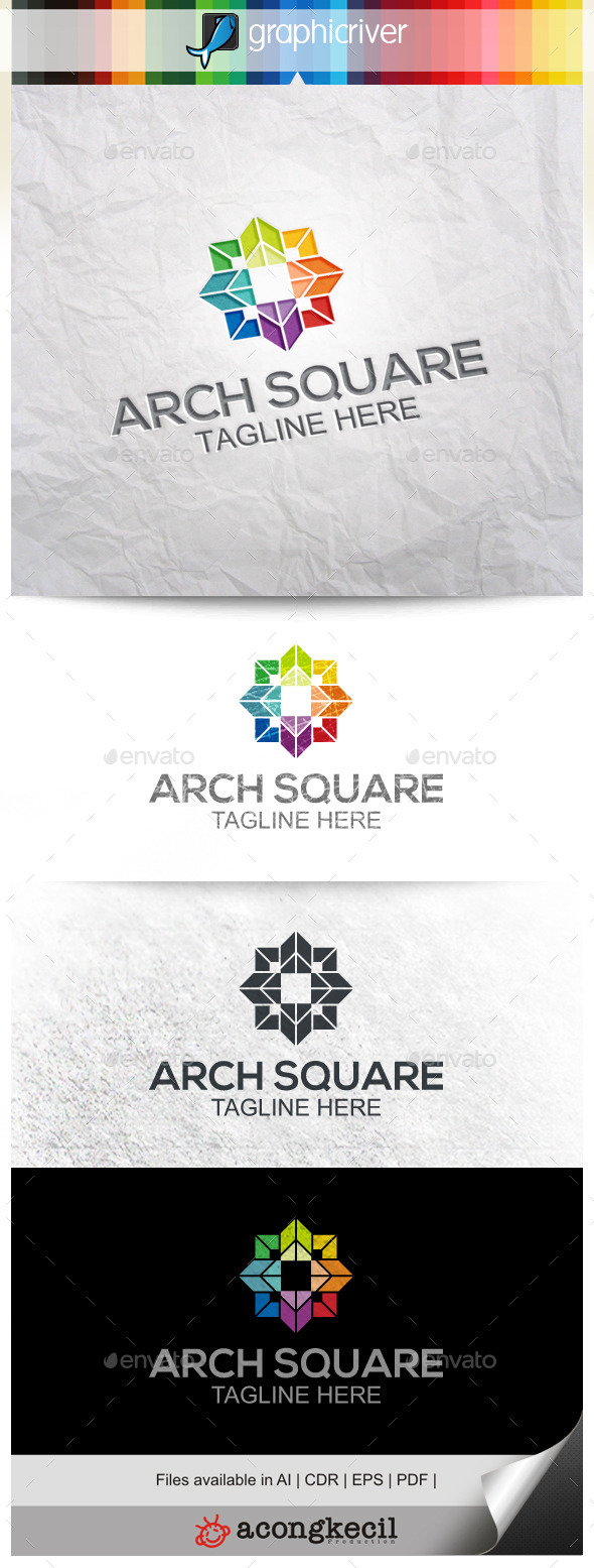 GraphicRiver Architecture Square 9911380