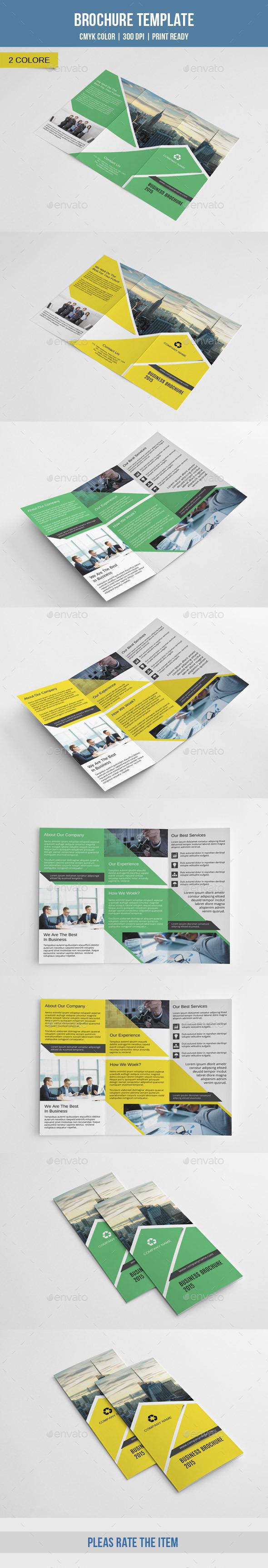 GraphicRiver Corporate Trifold Brochure-V209 9911410