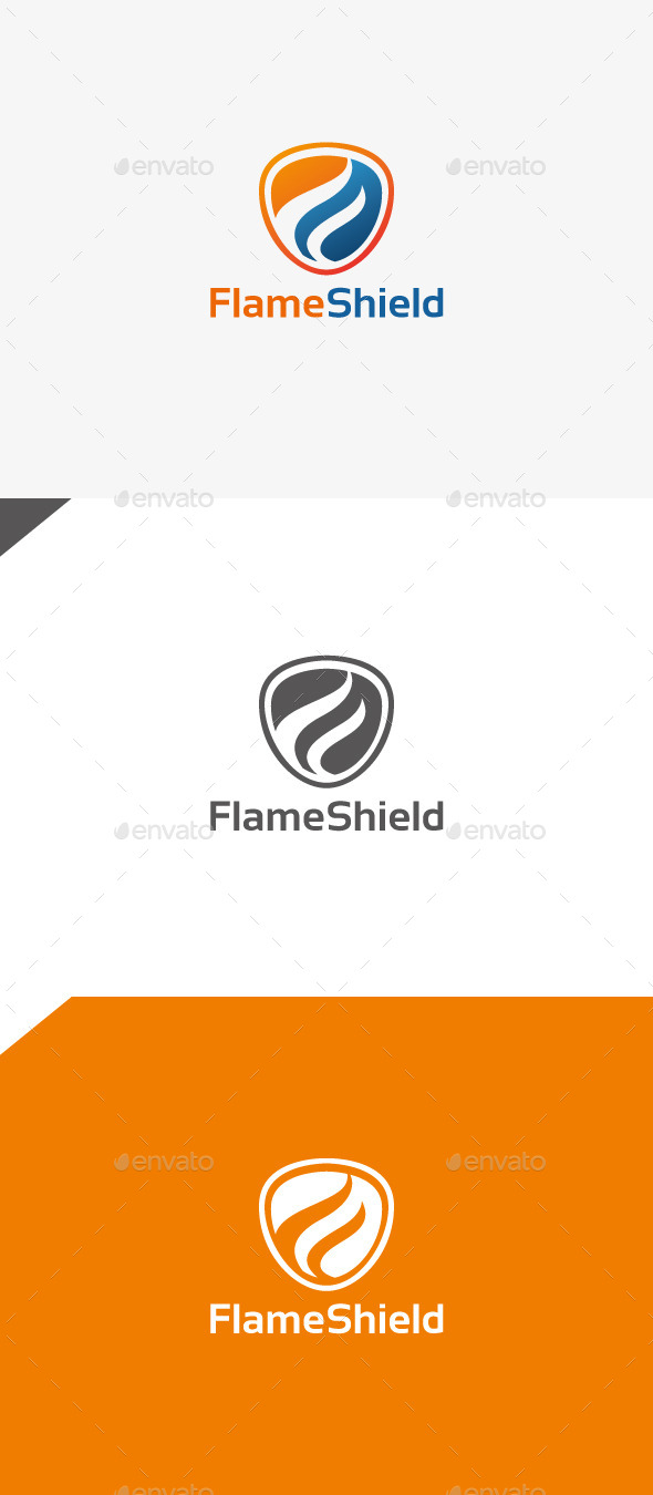 GraphicRiver Flame Shield 9911504