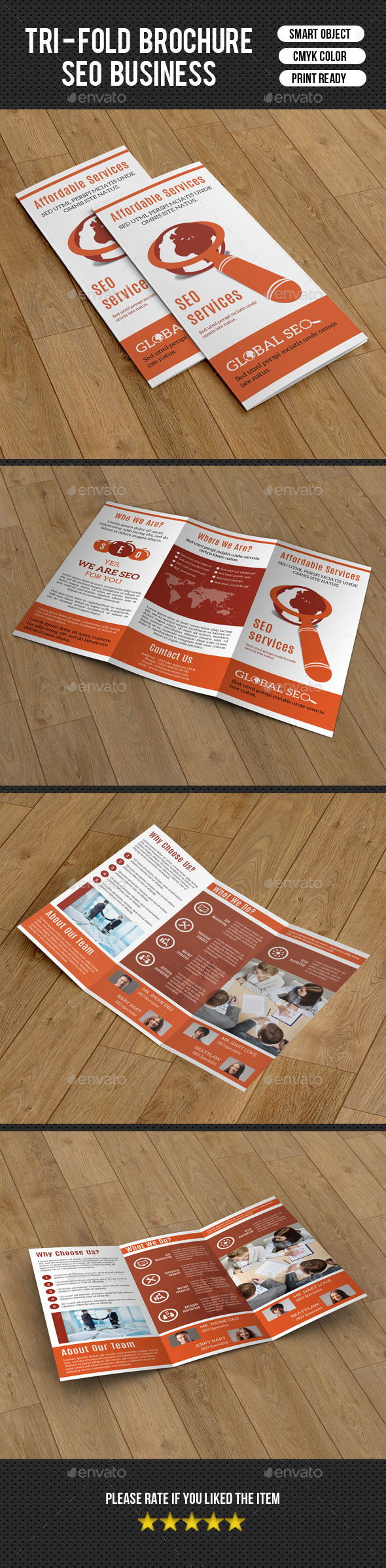 GraphicRiver Trifold Brochure for SEO Business-V211 9911593