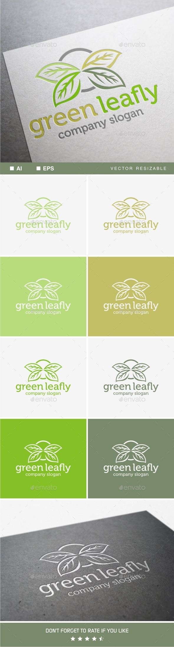 GraphicRiver Green Leafly 9911596