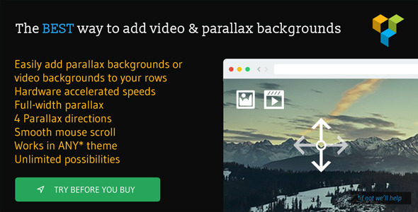 Video & Parallax Backgrounds For Visual Composer - CodeCanyon Item for Sale