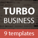 Turbo Business - Premium Muse Template - ThemeForest Item for Sale