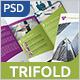 Business Tri-fold Brochure - v008 - GraphicRiver Item for Sale