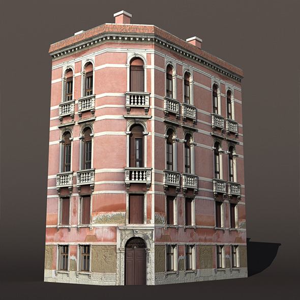 3DOcean Venice Building #147 9912370
