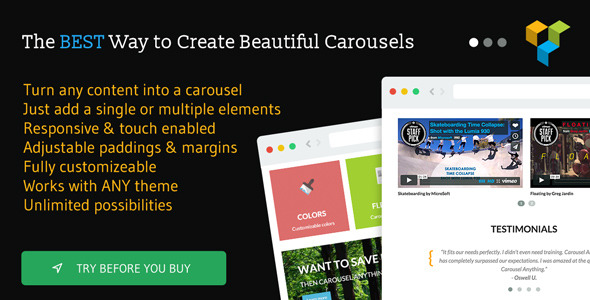 13. Carousel Anything for Visual Composer