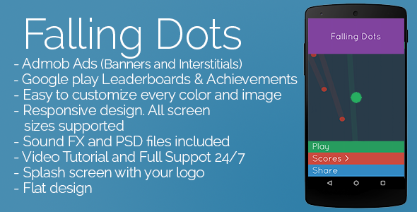 CodeCanyon Falling Dots 9912520
