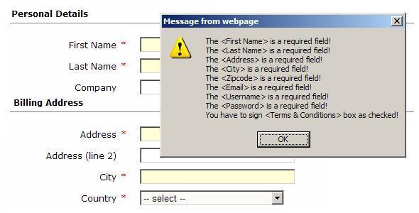 CodeCanyon JS Auto Form Validator 123406