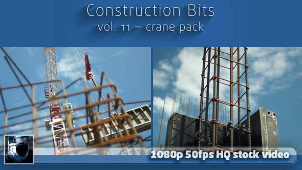 Construction Bits 11 - Crane Pack