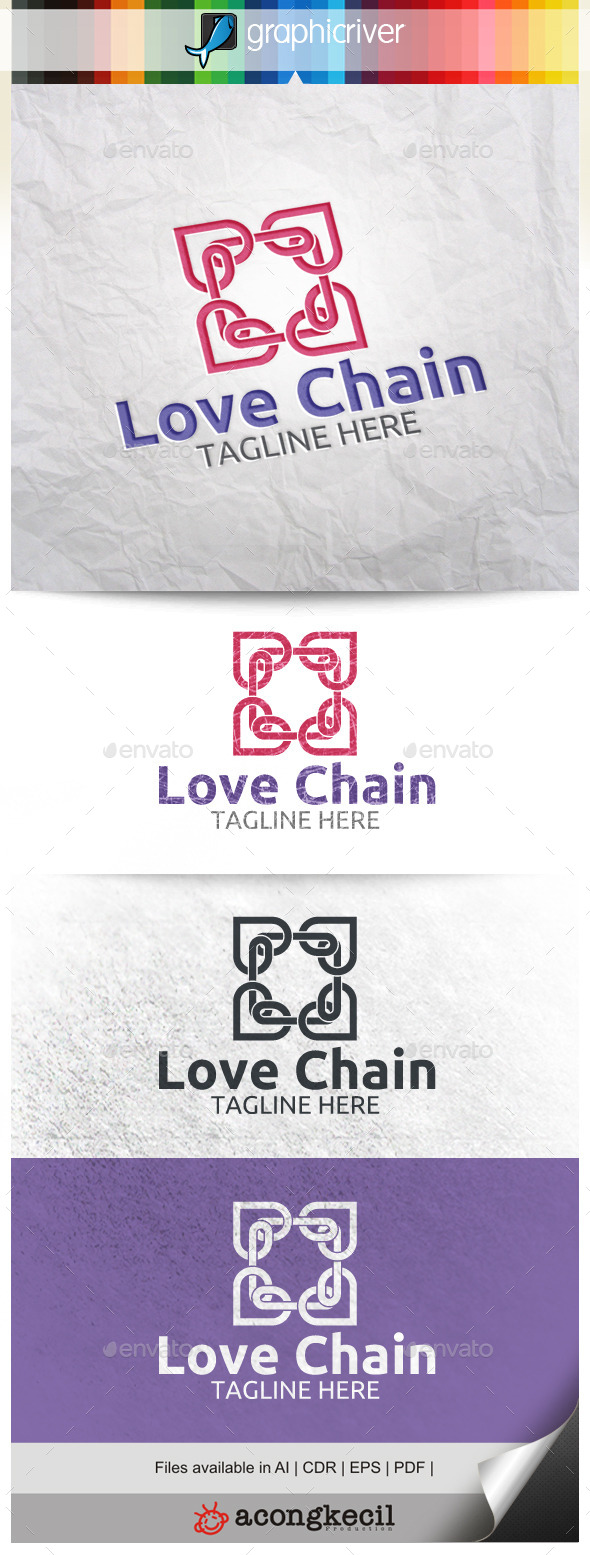 GraphicRiver Love Chain 9912769