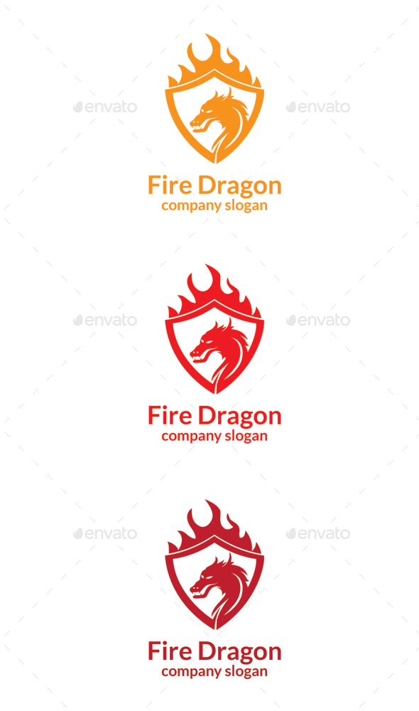 GraphicRiver Fire Dragon 9912796
