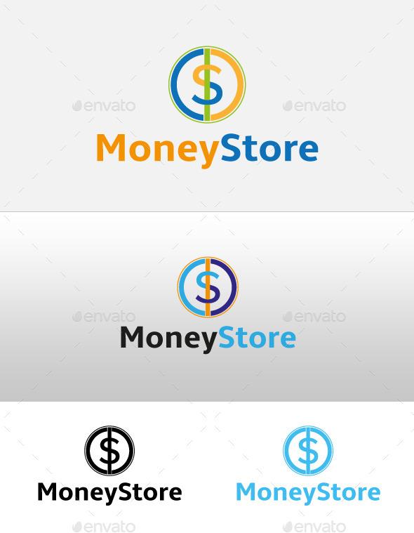 GraphicRiver Money Store Logo 9912865