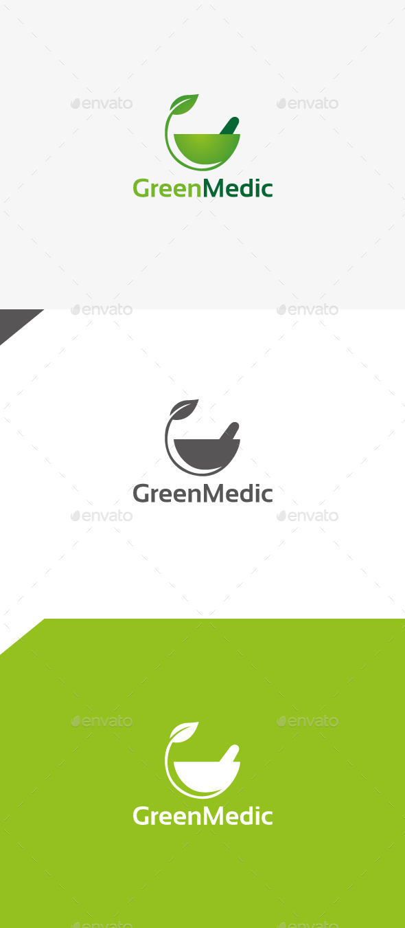 GraphicRiver Green Medic 9913065
