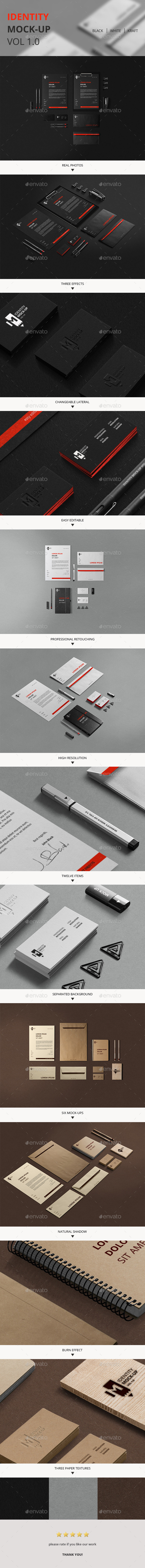 GraphicRiver Identity Mock-Up Vol 1.0 9913114