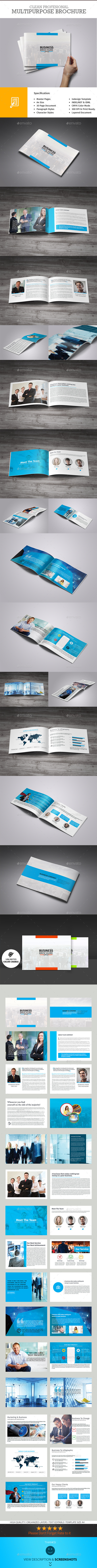 GraphicRiver Business Solution 30 Pages Business Brochure 9913147