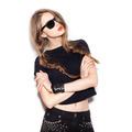Fashion swag girl in sunglasses - PhotoDune Item for Sale