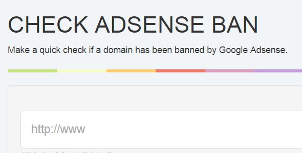 CodeCanyon Check Adsense Ban 9913603