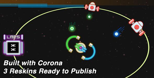 CodeCanyon Color Block Corona SDK Game 9914151