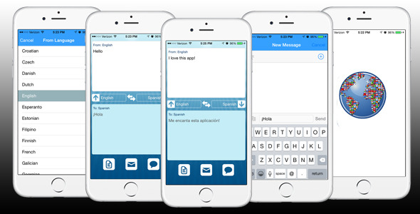 CodeCanyon iPhone Translation App Template reskinnable 9896519