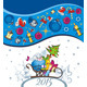 Vector Card of New Year - GraphicRiver Item for Sale
