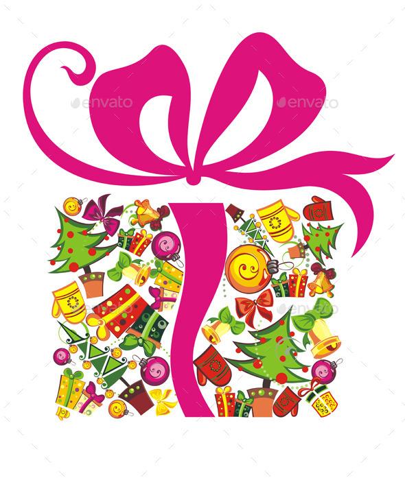 GraphicRiver Christmas Present 9914475