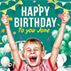 Kids Birthday Party Flyer (2 Themes) - GraphicRiver Item for Sale
