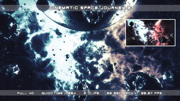 Cinematic Space Journey 3