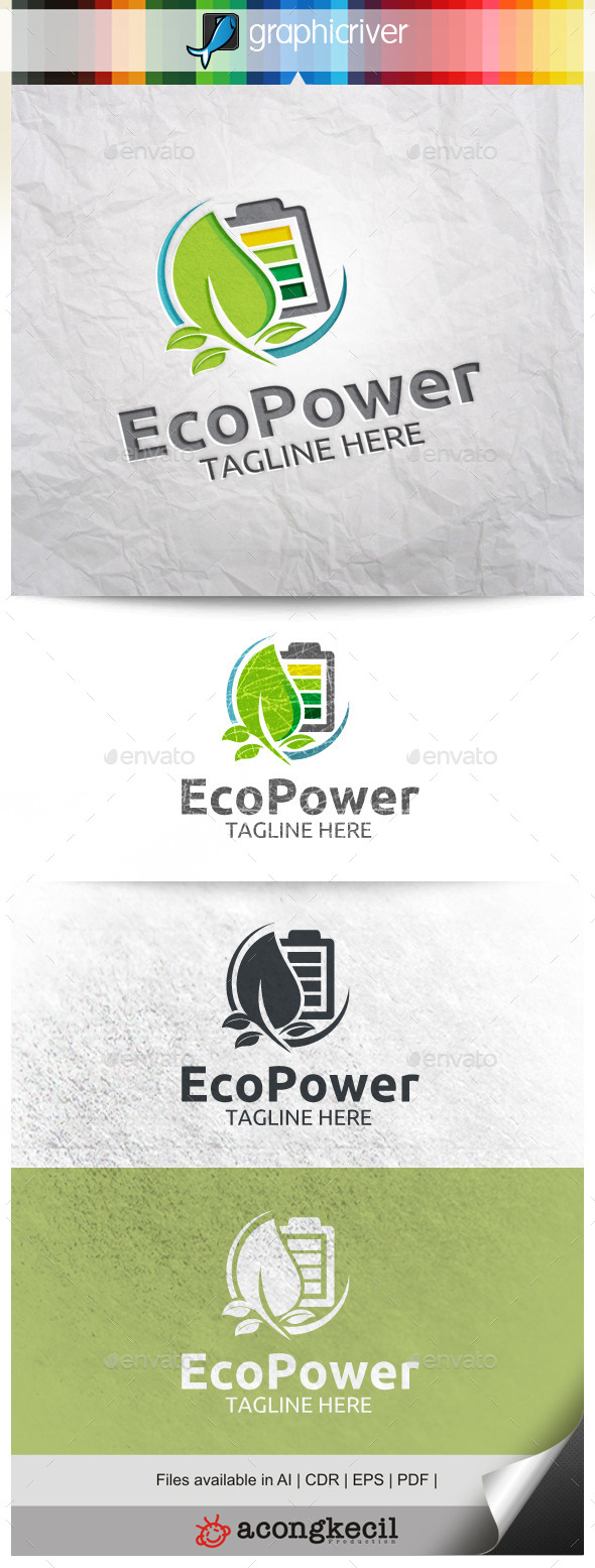 GraphicRiver Eco Power 9914879