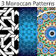 3 Moroccan Patterns Bundle 3 - GraphicRiver Item for Sale