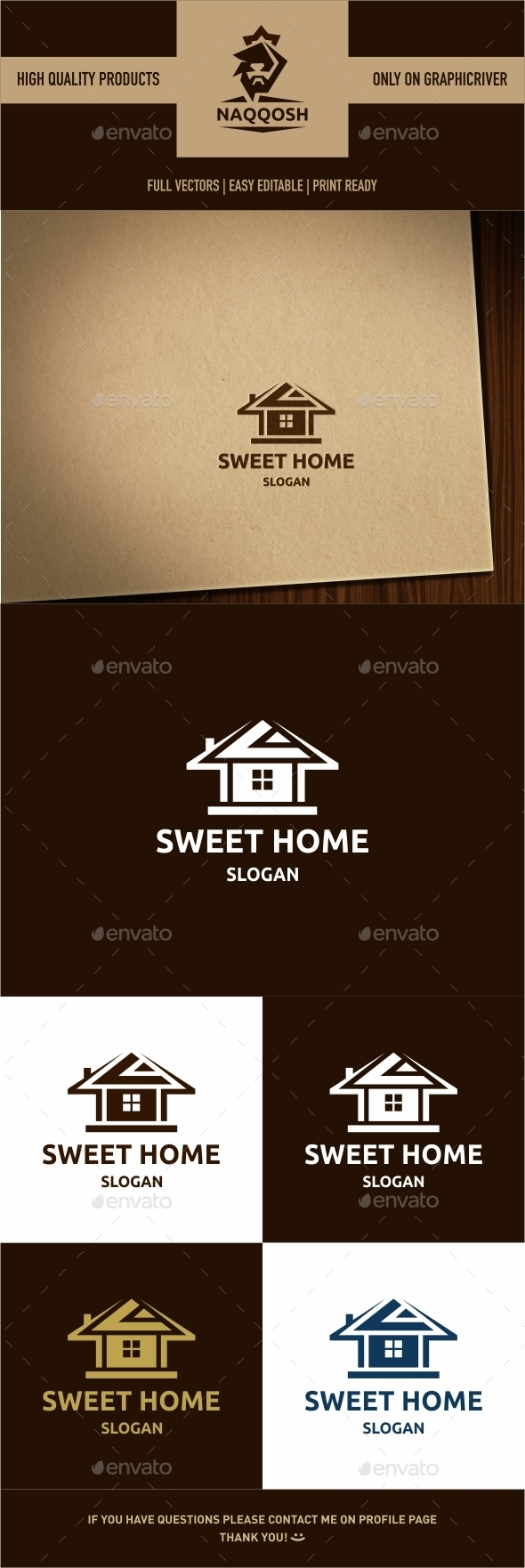 GraphicRiver Sweet Home 9915871