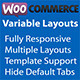 WooCommerce Variable Product Layouts