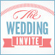 Indie Wedding Invitation - GraphicRiver Item for Sale