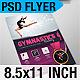 Sports Flyer: Gymnastics - GraphicRiver Item for Sale