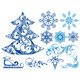 Set of Christmas Elements - GraphicRiver Item for Sale