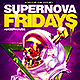 Supernova Electro Flyer Template - GraphicRiver Item for Sale