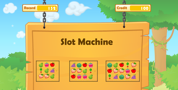 CodeCanyon Slot Machine Android Game 9916878