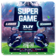 Super Ball XLIX Flyer Template - GraphicRiver Item for Sale