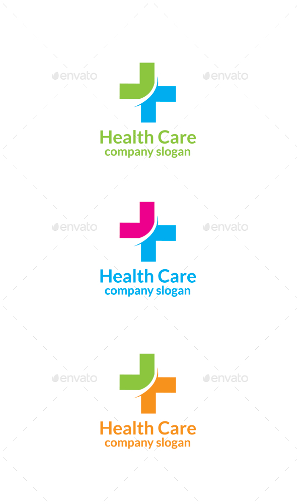 GraphicRiver Health Care Logo 9917186
