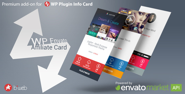CodeCanyon WP Envato Affiliate Card 9917232