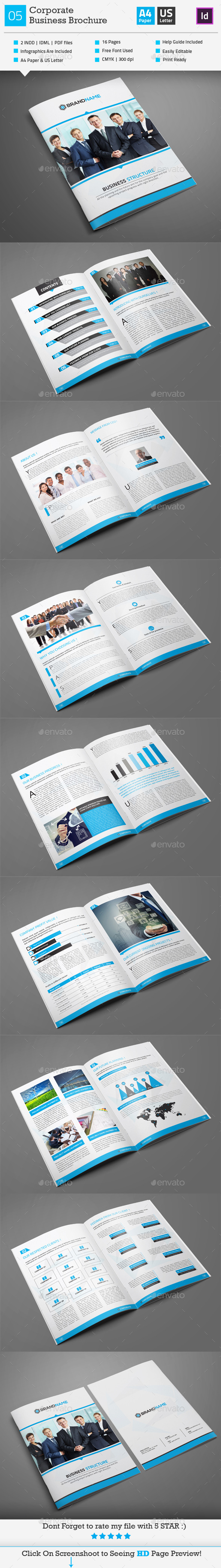 GraphicRiver Corporate Business Brochure 05 9917375