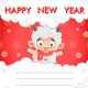 Sheep New Year Card - GraphicRiver Item for Sale
