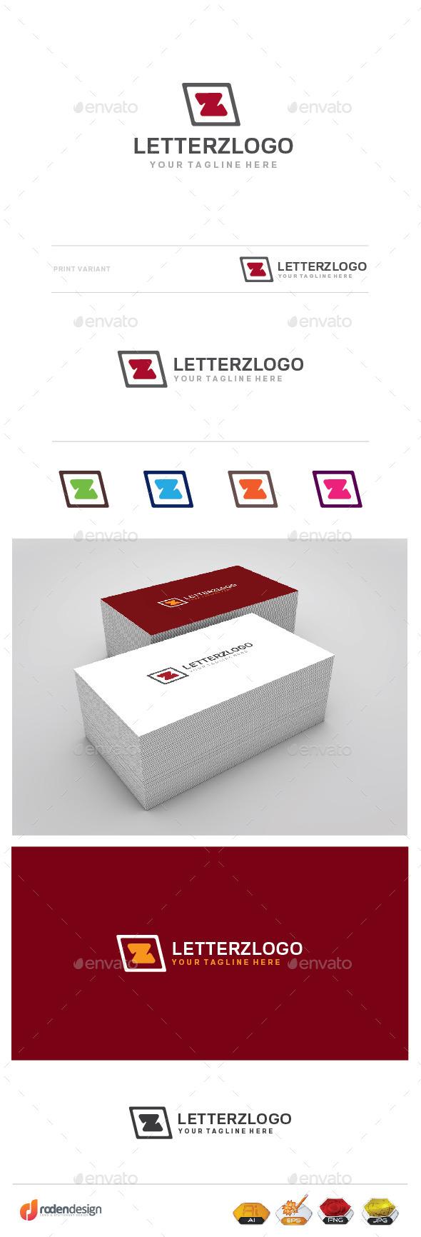 GraphicRiver Z Letter Logo 9917871
