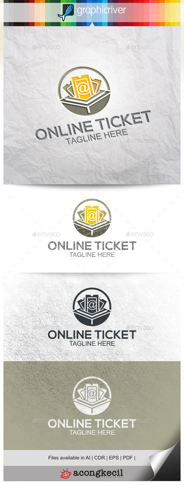 GraphicRiver Online Ticketing 9917938
