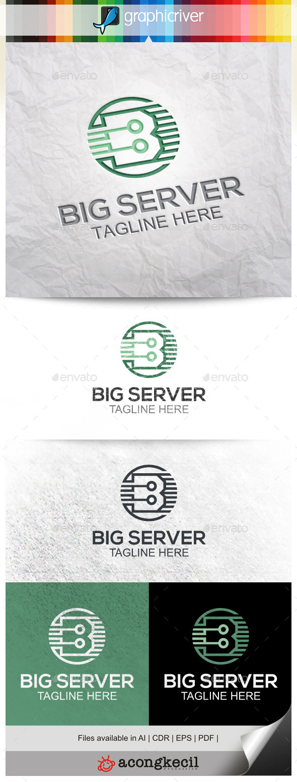GraphicRiver Big Server 9918014