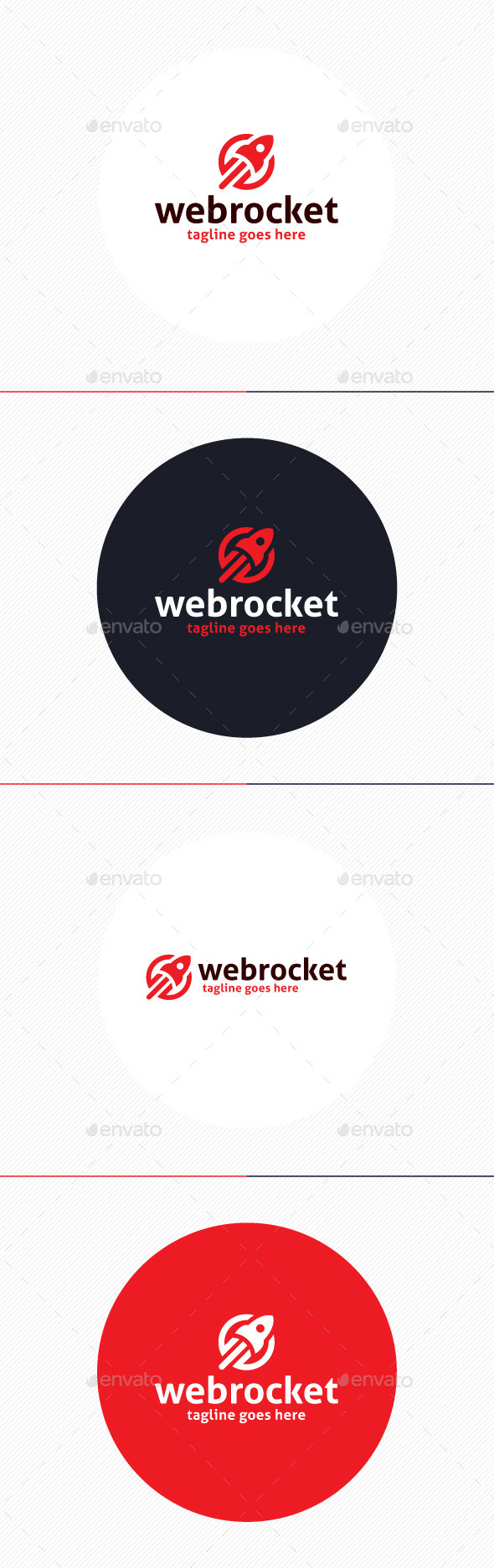 GraphicRiver Web Rocket Logo 9918033