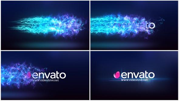 Particle Flow Logo Reveal