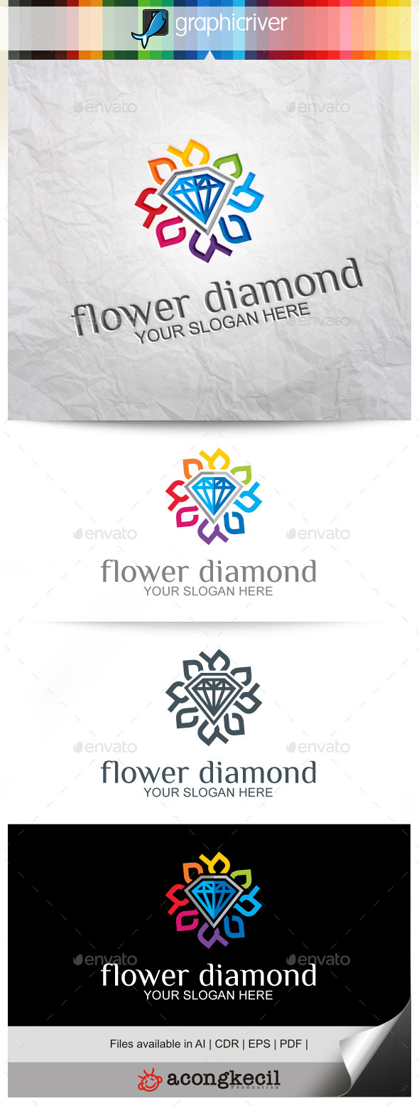 GraphicRiver Flower Diamond V.5 9918750